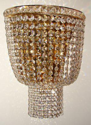 Austrian Swarovski Crystal wall mounting chandelier 18x18 inch for Sale in Chandler, AZ
