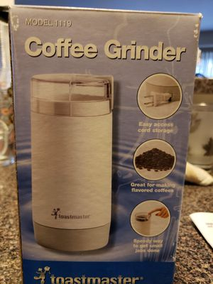 Coffee grinder by Toastmaster for Sale in Naperville, IL