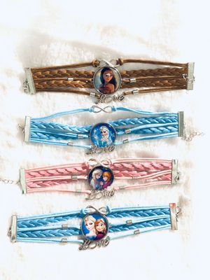 Frozen and Moana girl bracelets $5 each for Sale in National City, CA