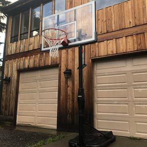 "Lifetime Basketball Hoop (50"" backboard) for Sale in Duvall, WA"