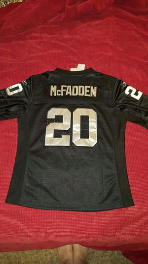 Authentic stitched Raiders Mcfadden jersey for Sale in Leavenworth, WA