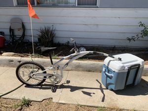 Folding Trail-a-bike for Sale in San Diego, CA