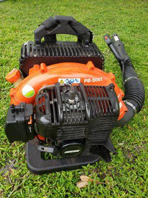 Echo Backpack blower pb500t for Sale in Pinellas Park, FL
