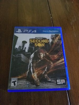Ps4 Second Son for Sale in Glendale, AZ