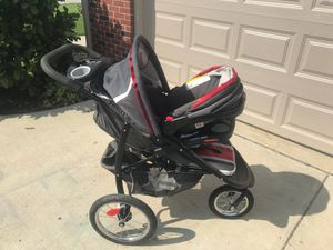 Graco Snugride 35 infant car seat and stroller for Sale in Crittenden, KY