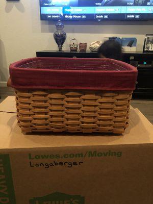 Longaberger Small Wash Day Basket for Sale in Chandler, AZ