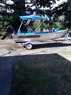 14ft kalamoth aluminum boat for Sale in Portland, OR