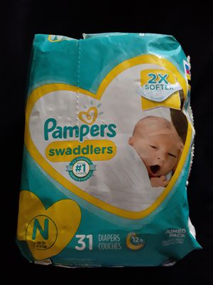 Pampers Size newborn diapers for Sale in Newport News, VA