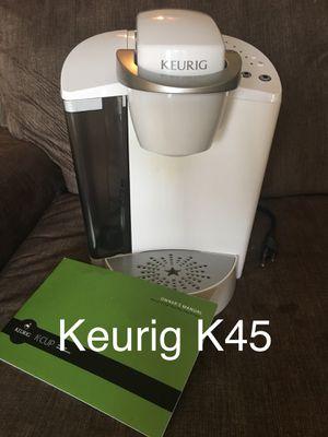White Keurig K45 Elite for Sale in Blaine, TN