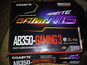 Gigabyte gaming AB350-Gaming3 motherboard for Sale in Lawrence, KS