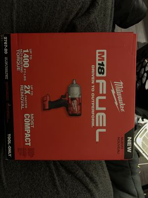 "1/2"" High Torque Impact Wrench and Battery for Sale in Gaithersburg, MD"