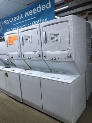 Ge Stackable Washer and Dryer set on sale for Sale in Norcross, GA
