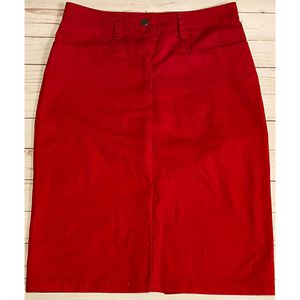 Lucky 13 Rockabilly Pinup Red Pencil Skirt Small for Sale in Azusa, CA