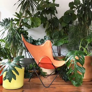 Pair of Vintage BKF Butterfly Chairs w/ Original Canvas Slings for Sale in Portland, OR