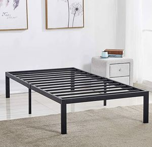 New twin metal platform bed free delivery for Sale in North Las Vegas, NV