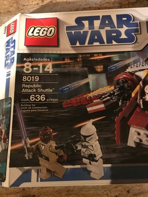 LEGO 8019 Republic Attack Shuttle for Sale in Southbury, CT