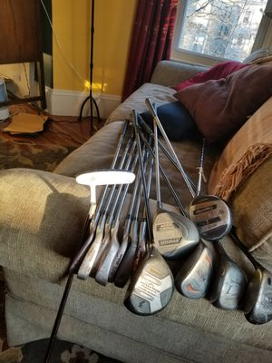 Assorted Golf Clubs (as labeled) for Sale in Boston, MA
