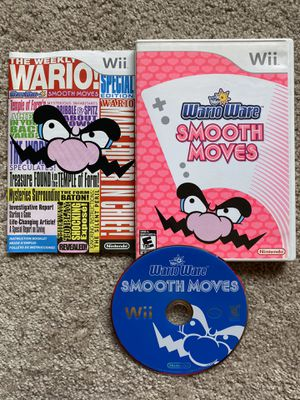 Wario Ware Smooth Moves. Nintendo Wii. Wii U. Complete! for Sale in San Diego, CA