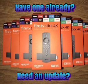 Update your old Amazon fire tv stick for Sale in Bolingbrook, IL