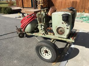 Quincy air compressor for Sale in Leavenworth, WA