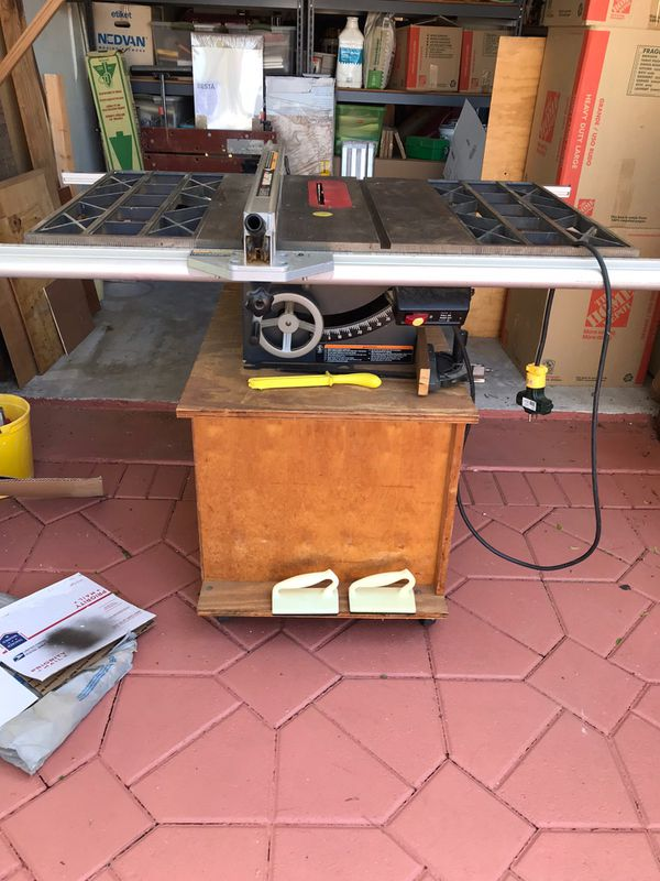 Craftsman Xr 2424 Table Saw For Sale In Boca Raton Fl Offerup