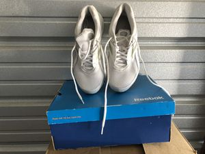 Reebok tennis shoes worn once still in box size 8 for Sale in Sewickley, PA