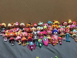 Lala Loopsy Mini Dolls (+pets and additional accessories) for Sale in Montgomery, AL