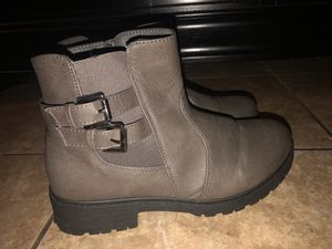 Gray boots for Sale in Norwalk, CA