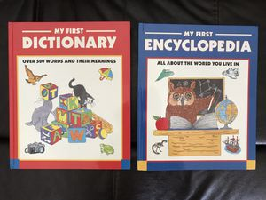 My First Dictionary and My First Encyclopedia for Sale in Rustburg, VA