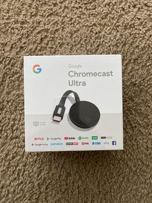 4K Chromecast Ultra for Sale in FL, US