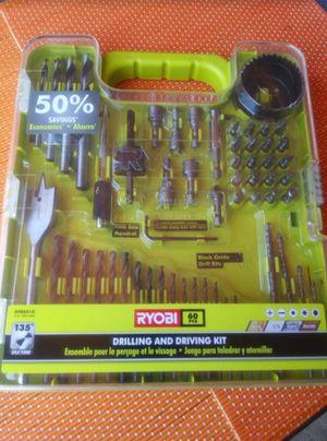 RYOBI Multi-Material Drill and Drive Kit (60-Piece) for Sale in Rialto, CA