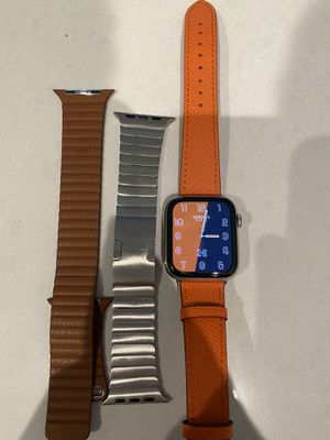 Apple Series 5 Stainless Watch Cellular. for Sale in San Diego, CA