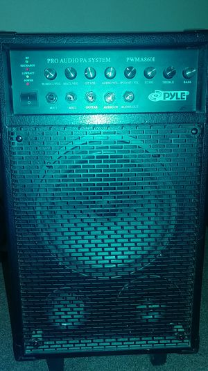 Pyle PWMA8601 PRO AUDIO PA SYSTEM for Sale in Perris, CA