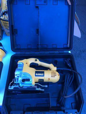Dewalt 6.5 Amp Corded Jig Saw Kit hard case for Sale in Mesa, AZ