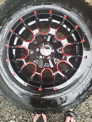 17s with AT tires for Sale in Everett, WA