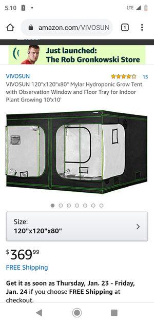 BRAND NEW 10x10ft indoor grow tent VIVOSUN for Sale in Los Angeles, CA