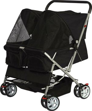 Paws & Pals Double Stroller for Sale in Kearny, NJ