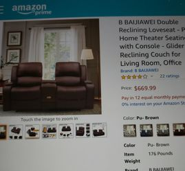 Dual Reclining Loveseat for Sale in Dade City,  FL