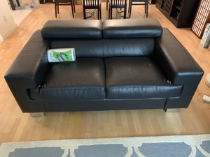 Black sofa - must sell for Sale in San Francisco, CA