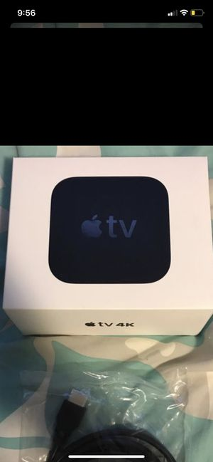 Apple TV 4K 64 gb for Sale in Menifee, CA