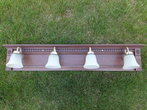 FOUR LIGHT-COVERED FIXTURE. for Sale in Cecil, PA