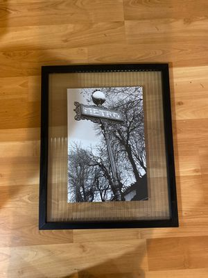 Framed glass art photo metro park clay Davidson for Sale in Kirkland, WA