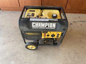 Champion 3500/4000 watt remote start generator for Sale in Buckeye, AZ