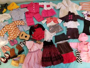 18 inch Doll clothes fit American girls too for Sale in Pawtucket, RI