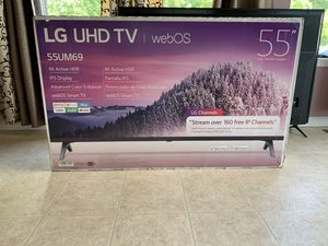 """55"""" LG 4K UHD HDR SMART TV for Sale in Aberdeen, MD"""