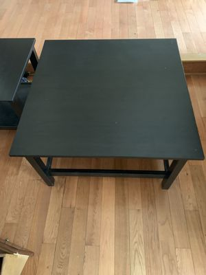 Coffee table and 2 end tables (Black) for Sale in Stafford, VA