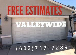 FREE GARAGE DOOR ESTIMATES VALLEYWIDE! for Sale in Peoria, AZ