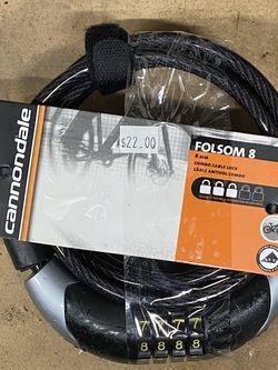 Cannondale Folsom 8 Combination Bike Lock for Sale in Portland,  OR