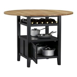 Crate and Barrel High Dining Table w/ Storage + Stools for Sale in Washington, DC