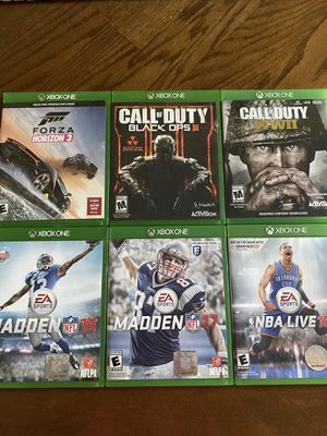 Xbox one games for Sale in Sykesville, MD